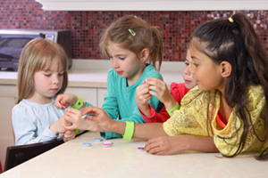 Linkitz has developed an electronic toy that includes a set of links that can be snapped together and programmed to create an interactive wearable device. The toy is designed to help children – specifically young girls - learn about software coding.