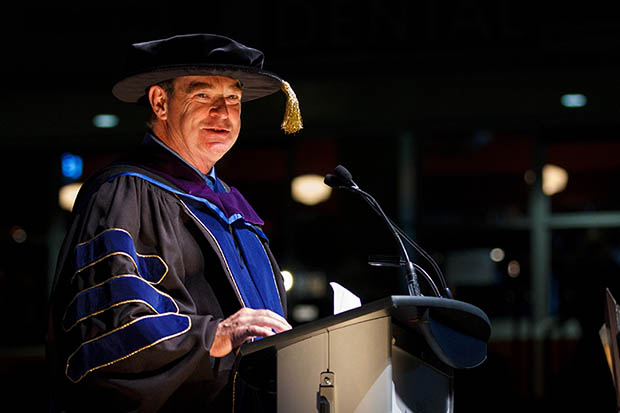 Founding Board Chair Robert Strickert received an honorary degree from Ontario Tech University in June 2013.