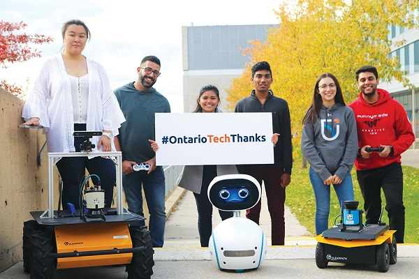 Ontario Tech thanks donors on National Philanthropy Day