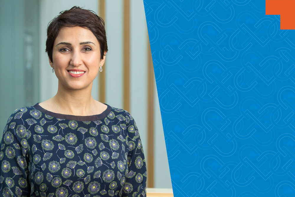 Dr. Serena Sohrab, Assistant Professor, Faculty of Business and Information Technology, Ontario Tech University.