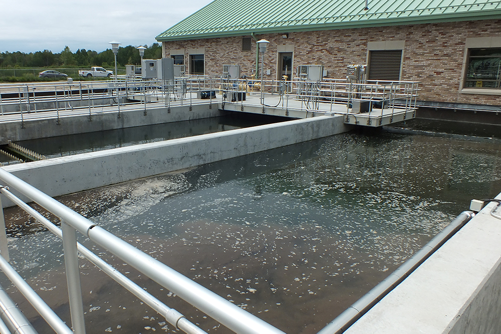 Durham Region's Nonquon Water Pollution Control Plant in Port Perry, in the Township of Scugog.