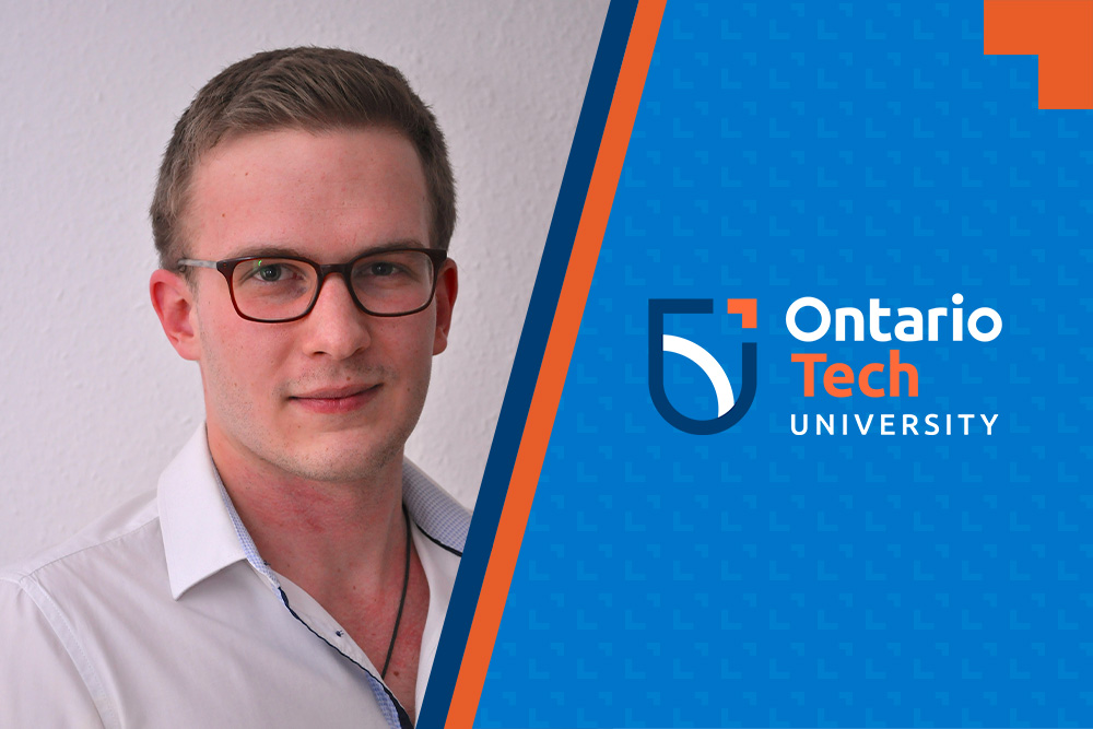 International student Tobias Cibis is Ontario Tech University's first cotutelle PhD student, concurrently enrolled at Australia's University of Technology Sydney.