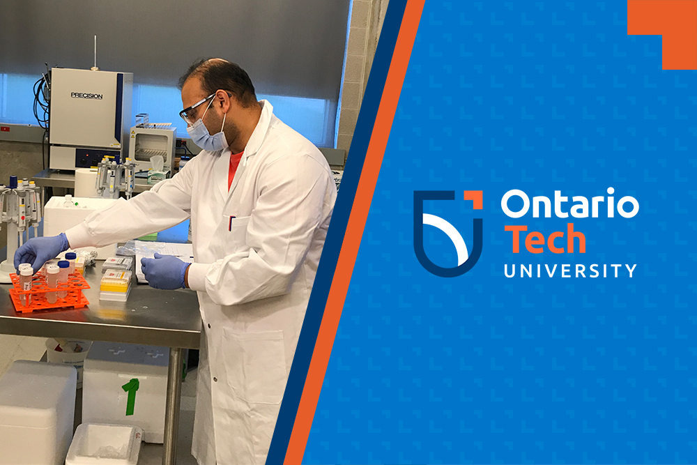Wastewater samples from Durham Region are being tested by Ontario Tech University's Faculty of Science for traces of COVID-19.