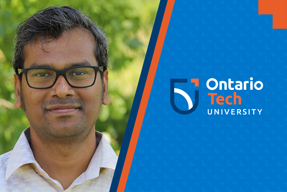 Dr. Akramul Azim, Assistant Professor, Faculty of Engineering and Applied Science, Ontario Tech University.