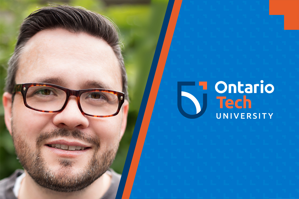 Vic Beaumont, Bachelor of Education, class of 2020, recipient of Ontario Tech University's President's Award of Excellence in Student Leadership.