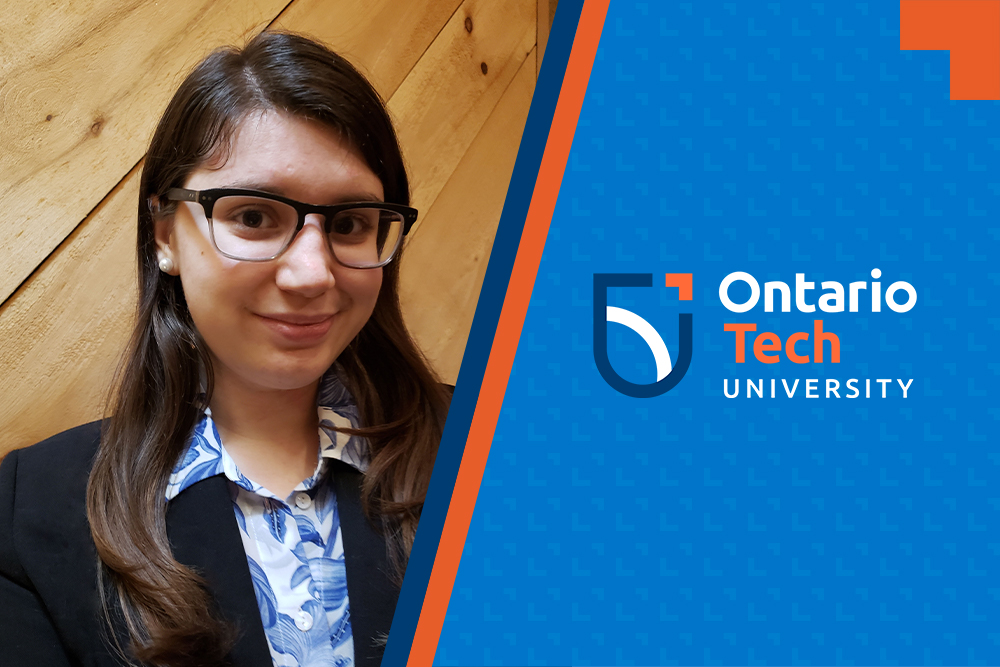 Giulia Santin is a fourth-year student in the Game Development and Entrepreneurship specialization of Ontario Tech University's Bachelor of Information Technology degree program.