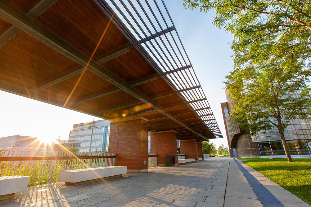 Polonsky Commons, Ontario Tech University's north Oshawa location.