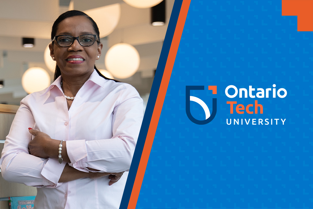 Beverley Rodrigues, Master of Education degree student at Ontario Tech University.
