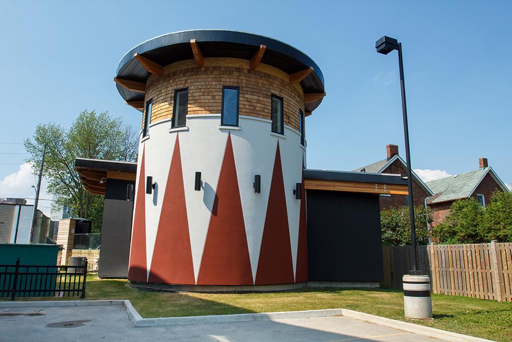 Baagwating Indigenous Student Centre at Ontario Tech University's downtown Oshawa campus location.