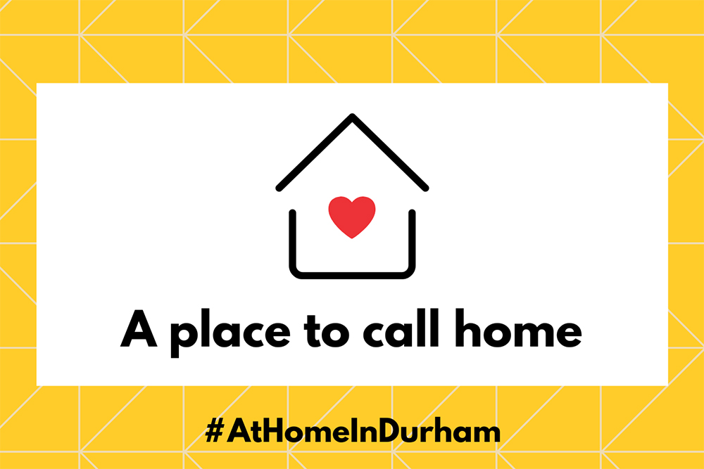 image of the At Home in Durham logo