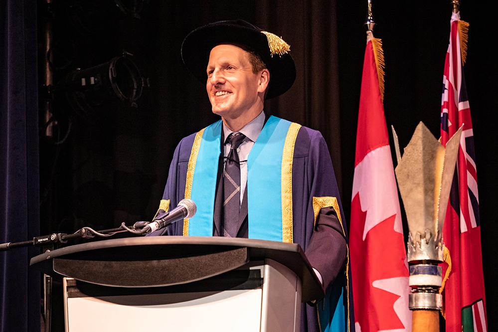 Mitch Frazer, Chancellor, Ontario Tech University